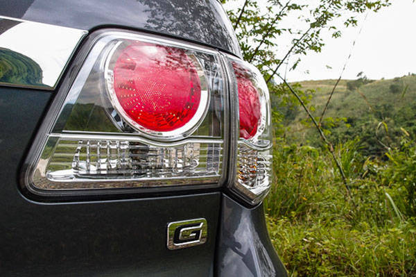 Toyota Fortuner Tail Lights