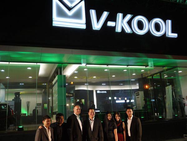 V-Kool Green store concept in Otis, Manila