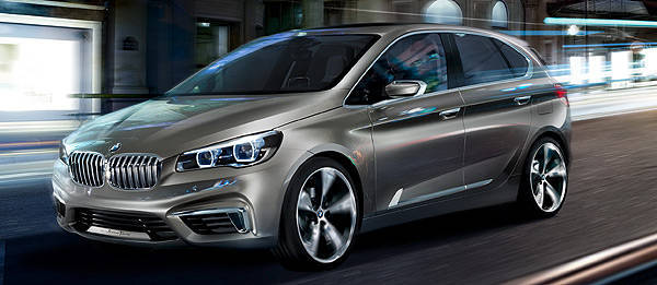 TopGear.com.ph Philippine Car News - BMW previews front-wheel drive future in Concept Active Tourer