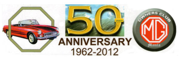 MG MGB's 50th anniversary