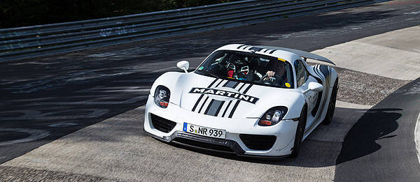 TopGear.com.ph Philippine Car News - Porsche 918 Spyder prototype laps Nurburgring
