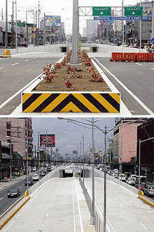 TopGear.com.ph Philippine Car News - Quezon Avenue underpass to open September 28