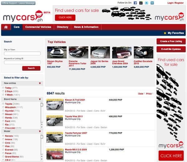 MyCars.ph
