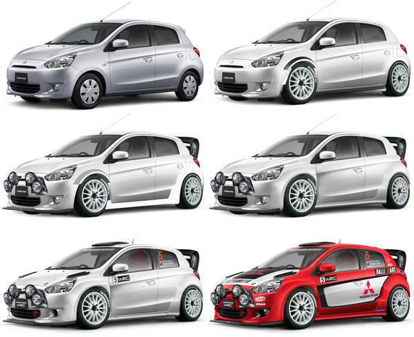 Mitsubishi Mirage WRC