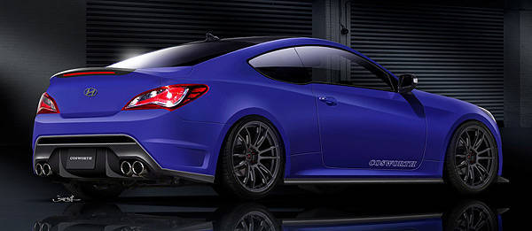 "SEMA preview: Hyundai, Cosworth creating ""the ultimate Genesis Coupe"""