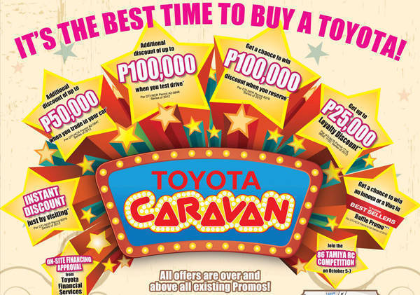 TopGear.com.ph Philippine Car News - Toyota PH to open doors to Toyota Caravan this weekend
