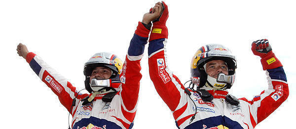 TopGear.com.ph Philippine Car News - Sebastien Loeb, Daniel Elena claim 9th straight WRC title