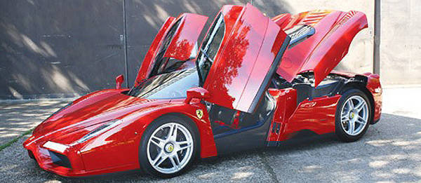 TopGear.com.ph Philippine Car News - Jenson Button's Ferrari Enzo to be auctioned off