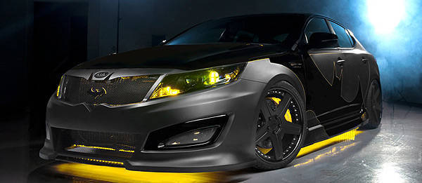 TopGear.com.ph Philippine Car News - Kia reveals Batman-themed Optima