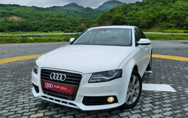 Audi A4 Ride and Handling