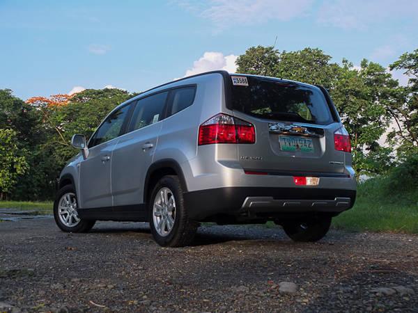 Chevrolet Orlando Styling