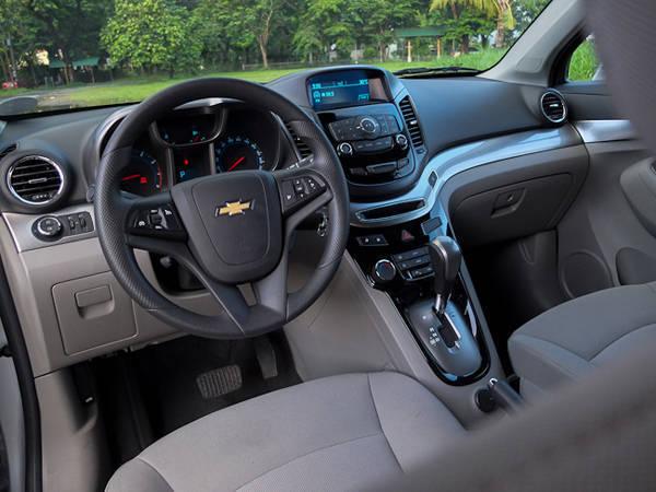 Chevrolet Orlando's Interior