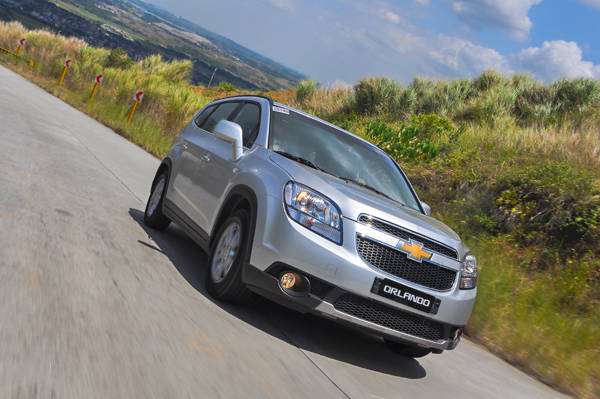 Chevrolet Orlando's Ride and Handling