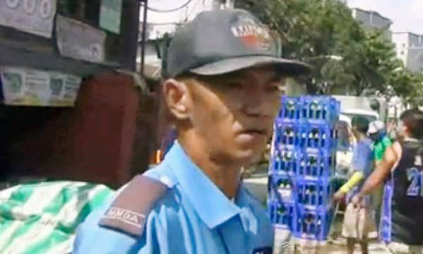 MMDA traffic constable Saturnino Fabros