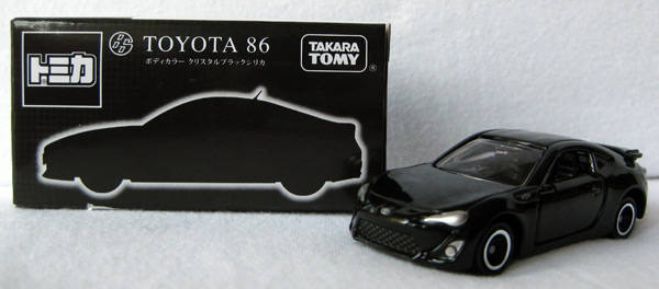 Tomica 86 Black Edition