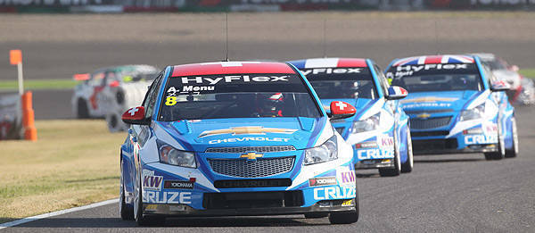TopGear.com.ph Philippine Car News - Chevrolet bags third straight WTCC manufacturers' crown