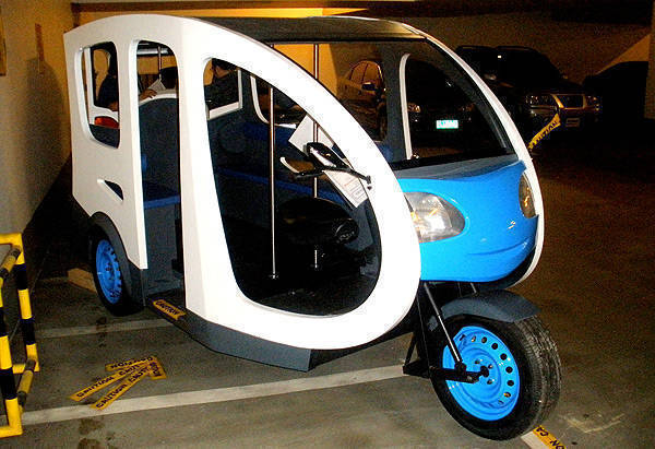 TopGear.com.ph Philippine Car News - DOE reveals ETrike prototype model