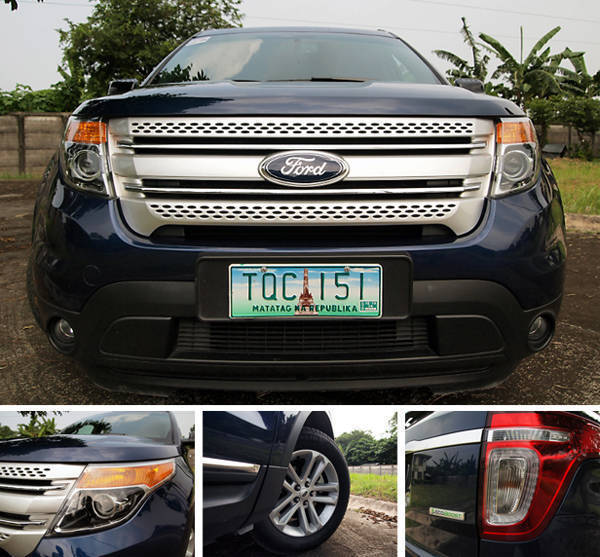 Ford Explorer Styling