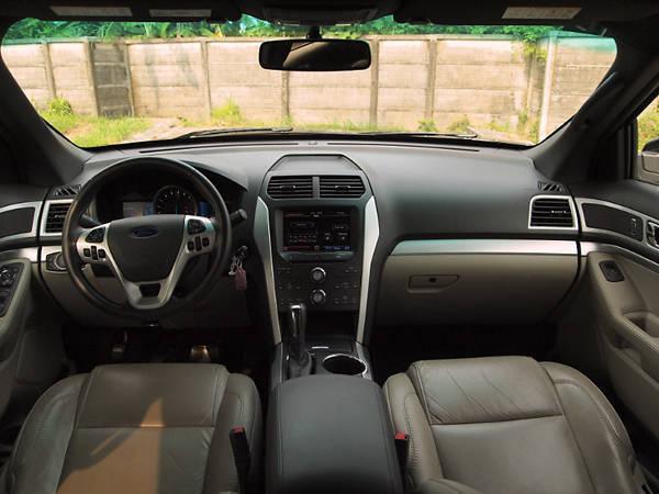 Ford Explorer's Interior