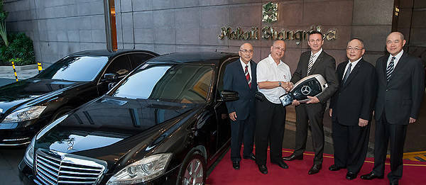 TopGear.com.ph Philippine Car News - Mercedes-Benz S 400 Hybrid is newest addition to Makati Shangri-La's luxury fleet