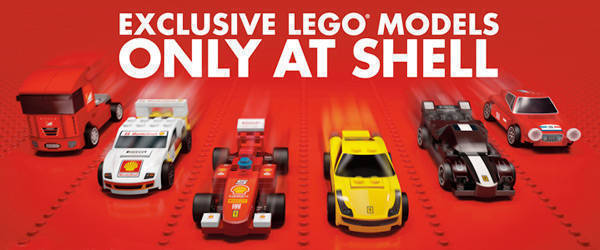 Gas Up With Shell Fuel And Get To Own These Lego Ferrari Cars