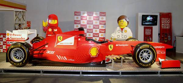 Lego Ferrari Formula 1 car