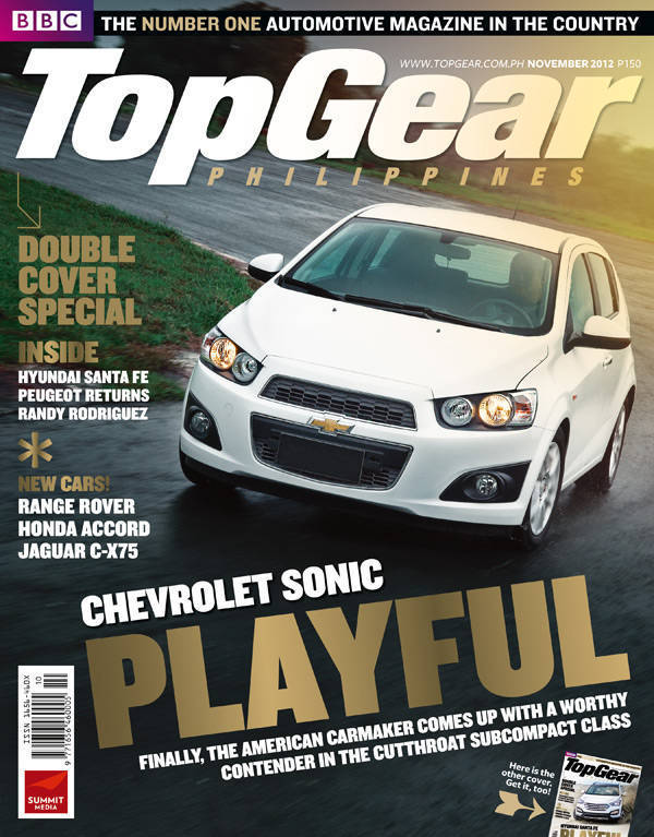 Top Gear Philippines' November 2012 issue