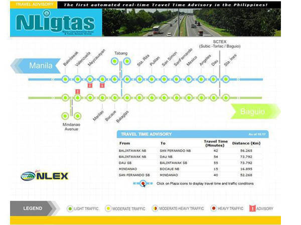 TopGear.com.ph Philippine Car News - NLEX traffic advisory system goes online