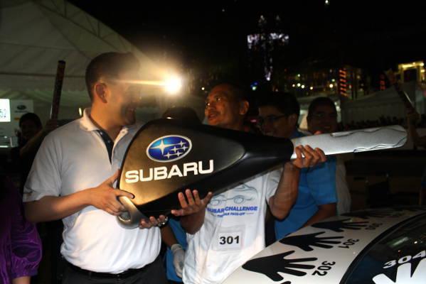 Gan Yu Shen Tholmas wins Subaru Challenge 2012