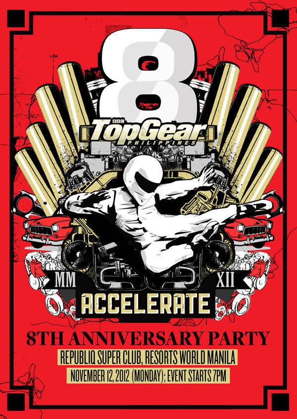 Top Gear Philippines' 8th anniversary party