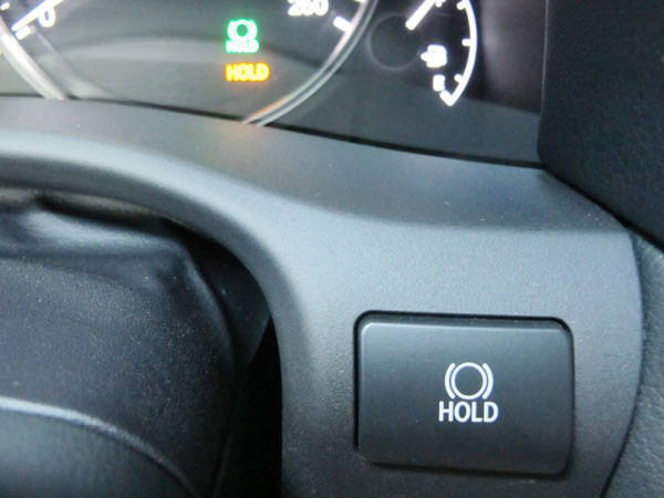 Lexus GS450h's brake holder