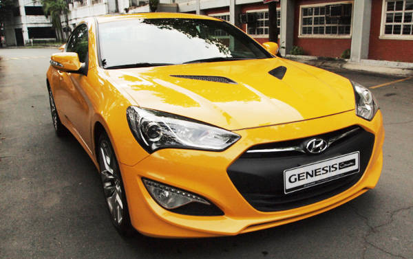 Hyundai Genesis styling