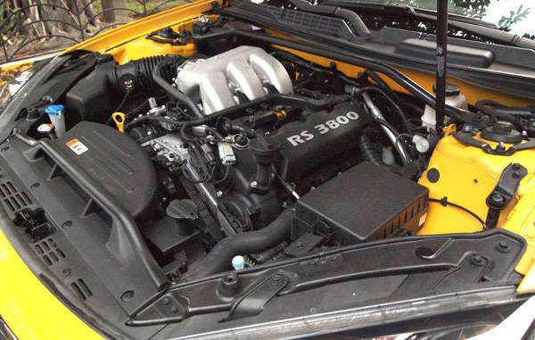 Hyundai Genesis engine