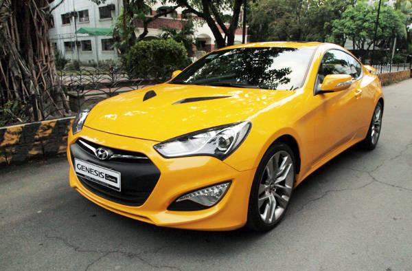 Hyundai Genesis' ride and handling