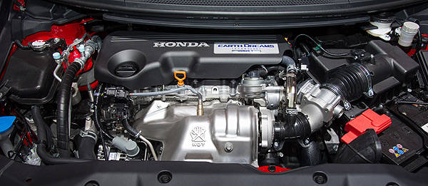 TopGear.com.ph Philippine Car News - Honda's 1.6-liter diesel engine to debut in Euro-market Civic
