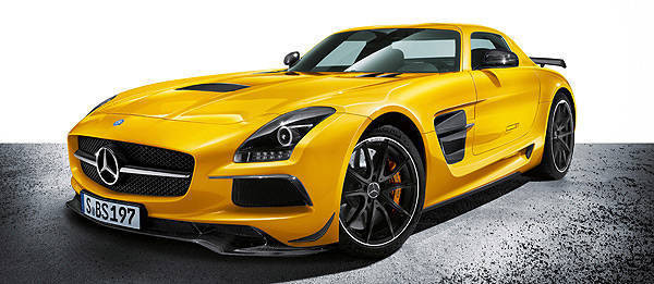 TopGear.com.ph Philippine Car News - Mercedes-Benz unveils SLS AMG Black Series