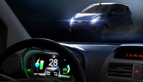 TopGear.com.ph Philippine Car News - LA preview: Electric-powered Chevrolet Spark