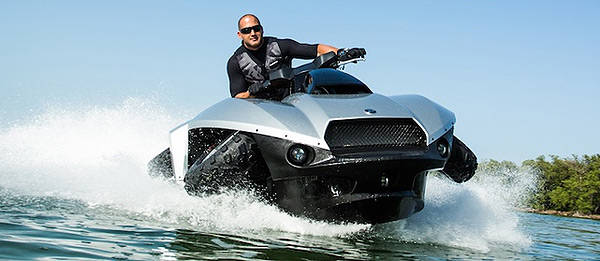 TopGear.com.ph Philippine Car News - Gibbs begins production of high-speed quad amphibian