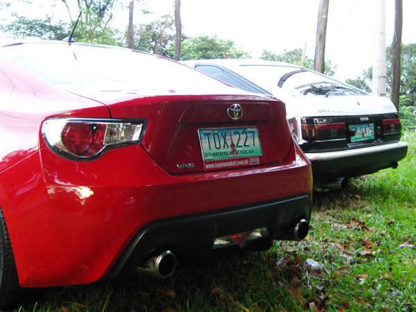Toyota 86 and Toyota AE86