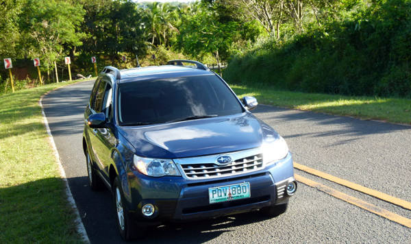 Subaru Forester Ride and Handling