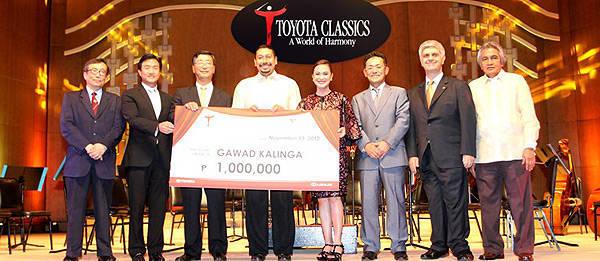 TopGear.com.ph Philippine Car News - Toyota gives P2 million to Gawad Kalinga