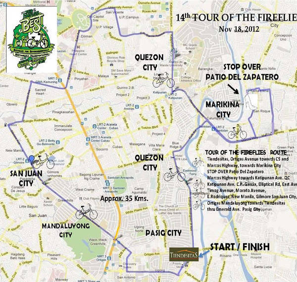 14th Tour of the Fireflies