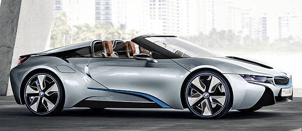 TopGear.com.ph Philippine Car News - LA preview: BMW i8 Concept Roadster