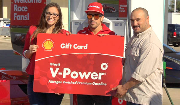 Shell US Grand Prix promo