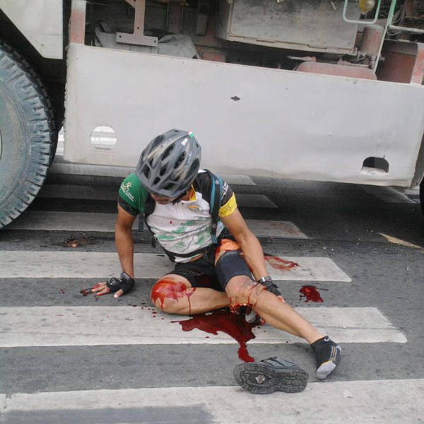 Fatal bicycle accident