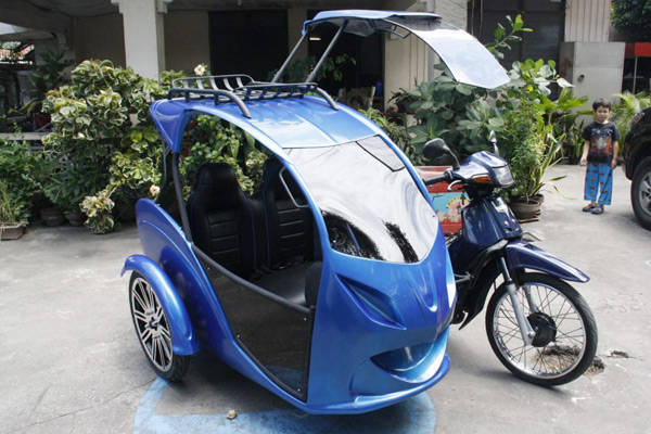 Tricycle in Koronadal City