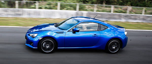 Launched: Subaru BRZ
