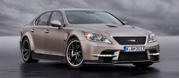 TopGear.com.ph Philippine Car News - Toyota Motorsport creates angry-looking, Lexus LS-based concept