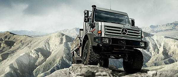 TopGear.com.ph - CATS Motors to bring in Mercedes-Benz Unimog line of trucks