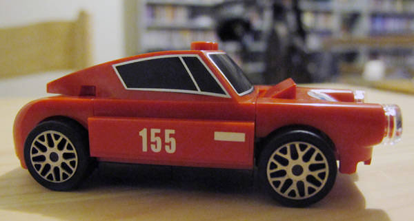 Shell Lego Ferrari model